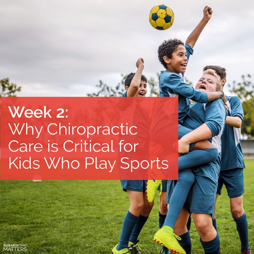 Read more about the article Why Chiropractic Care is Critical for Kids Who Play Sports