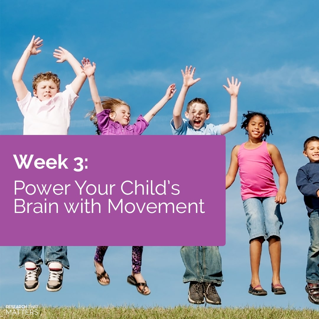 Read more about the article How to Power Your Child's Brain with Movement