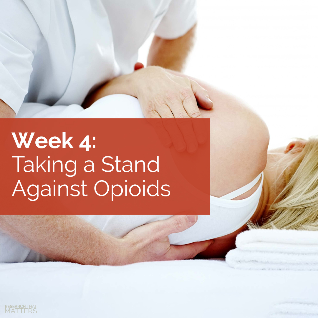 You are currently viewing Taking a Stand Against Opioids